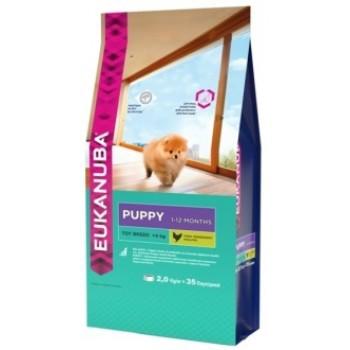 Eukanuba / Екануба Dog корм для щенков миниатюрных пород 2 кг