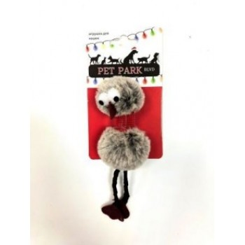 Petpark / Петпарк игрушка для кошек Christmas Птичка