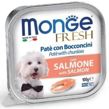 Monge / Монж Dog Fresh консервы для собак лосось 100г