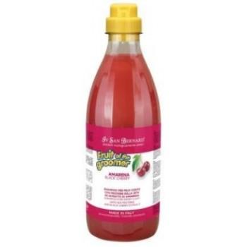 Iv San Bernard / Ив Сан Бернард Fruit of the Grommer Black Cherry Шампунь для короткой шерсти с протеинами шелка 1 л