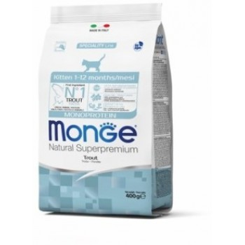 Monge / Монж Cat Monoprotein корм для котят с форелью 400г