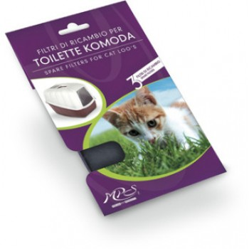 MPS / МПС фильтры для био-туалетов Komoda, Netta 3 шт