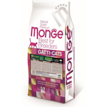 Monge / Монж PFB BWild Cat GRAIN FREE беззерновой корм из мяса буйвола для крупных кошек всех возрастов 10 кг