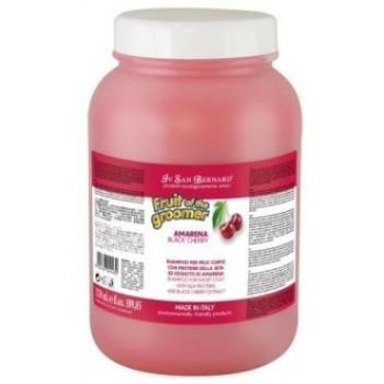 Iv San Bernard / Ив Сан Бернард Fruit of the Grommer Black Cherry Шампунь для короткой шерсти с протеинами шелка 3,25 л