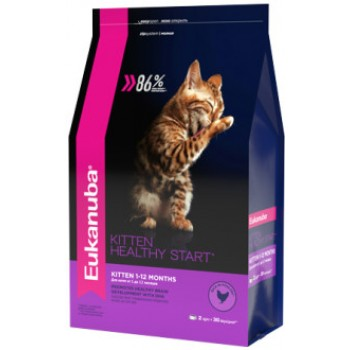 Eukanuba / Екануба Cat корм с домашней птицей для котят 2 кг