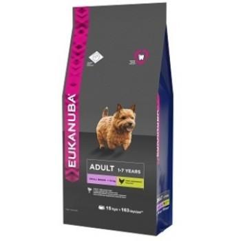 Eukanuba / Екануба Dog корм для взрослых собак мелких пород 15 кг