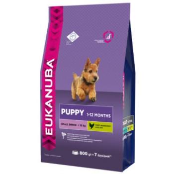 Eukanuba / Екануба Dog корм для щенков мелких пород 10 кг