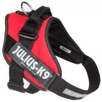 Julius-K9 / Юлиус-К9 шлейка для собак IDC®-Powerharness 2 (71-96см/ 28-40кг), красный