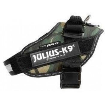 Julius-K9 / Юлиус-К9 шлейка для собак IDC®-Powerharness 1 (63-85см/ 23-30кг), камуфляж
