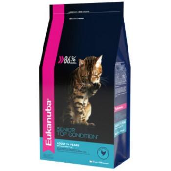 Eukanuba / Екануба Cat корм с домашней птицей для пожилых кошек 400 г
