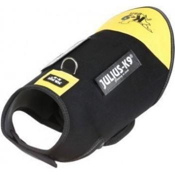 Julius-K9 / Юлиус-К9 жилет для собак Neoprene IDC® S (51-64см / длина 40см), черно-желтый