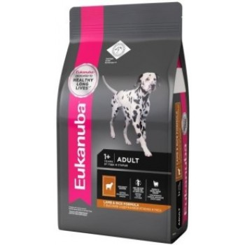 Eukanuba / Екануба Dog корм для взрослых собак всех пород ягненок 2,5 кг.