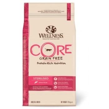 Wellness Core / Вилнес Кор корм из лосося для стерилизованных кошек и кастрированных котов 1,75 кг