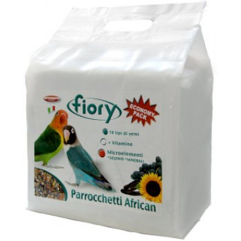 Fiory / Фиори корм для средних попугаев Parrocchetti African 3,2 кг