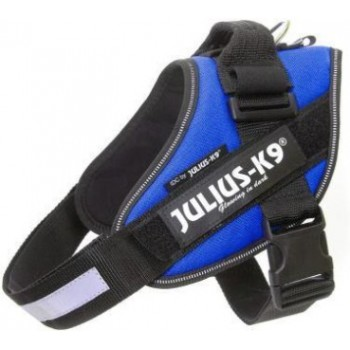 Julius-K9 / Юлиус-К9 шлейка для собак IDC®-Powerharness 2 (71-96см/ 28-40кг), синий