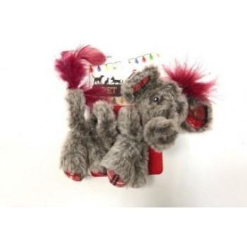 Petpark / Петпарк игрушка для кошек Christmas Кудрявый слон