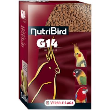 Versele-Laga гранулированный корм для средних попугаев NutriBird G14 Original 1 кг