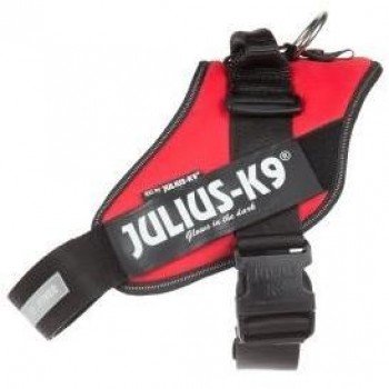 Julius-K9 / Юлиус-К9 шлейка для собак IDC®-Powerharness 3 (82-115см/ 40-70кг), красный