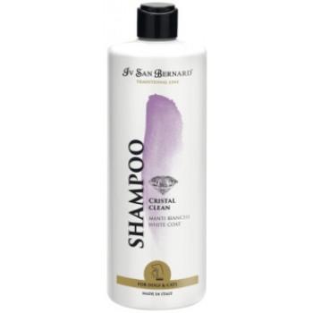 Iv San Bernard / Ив Сан Бернард Traditional Line Cristal Clean Шампунь для устранения желтизны шерсти 500 мл