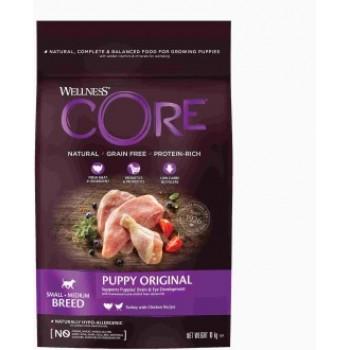 Wellness Core / Вилнес Кор корм из индейки с курицей для щенков мелких и средних пород 10 кг