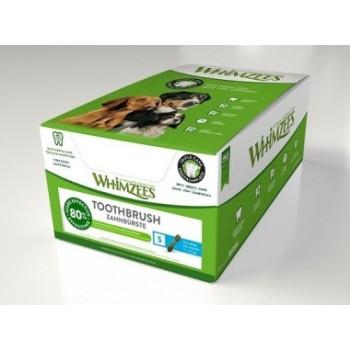 Whimzees / Вимзис дентальное лакомство Зубная щетка для собак S 9 см 150 шт в дисплее