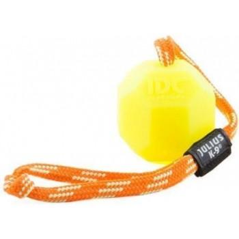 Julius-K9 / Юлиус-К9 игрушка для собак Мяч с ручкой 6см, флуоресцентный, силикон