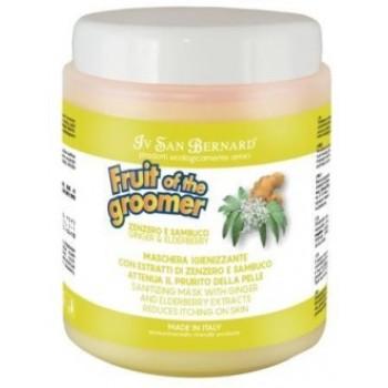 Iv San Bernard / Ив Сан Бернард Fruit of the Grommer Ginger&Elderbery Восстанавливающая маска с противовоспалительным эффектом 1 л