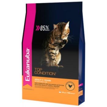 Eukanuba / Екануба Cat корм с домашней птицей для взрослых кошек 10 кг