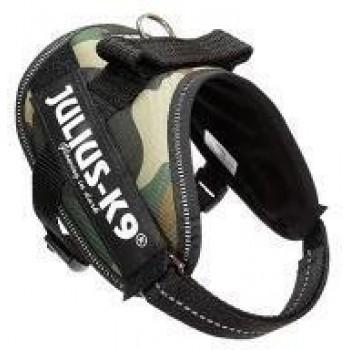 Julius-K9 / Юлиус-К9 шлейка для собак IDC®-Powerharness Mini-Mini (40-53см/ 4-7кг), камуфляж