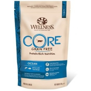 Wellness Core / Вилнес Кор корм из лосося с тунцом для взрослых кошек 300 гр