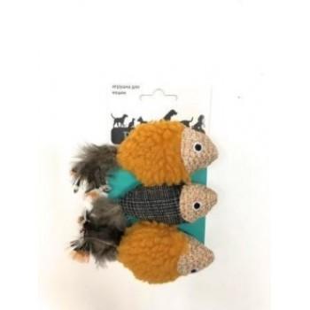 Petpark / Петпарк игрушка для кошек Рыбки 3 шт