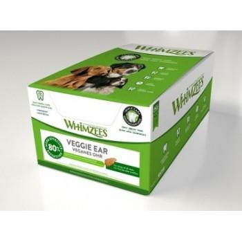 Whimzees / Вимзис дентальное лакомство Вегетарианское ухо для собак 18 см 18 шт в дисплее