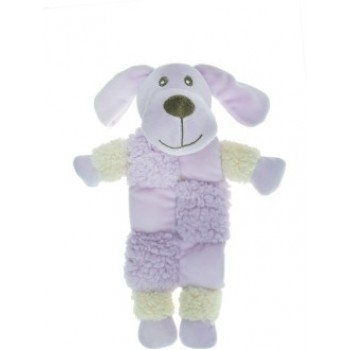 Aromadog / Аромадог Игрушка для собак Собачка 20 см с 3 пищалками сиреневая