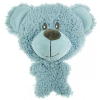 Aromadog / Аромадог Игрушка для собак BIG HEAD Мишка 12 см голубой
