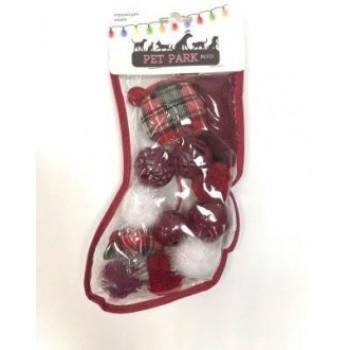 Petpark / Петпарк игрушка для кошек Christmas Подарочный чулок (12шт. внутри)