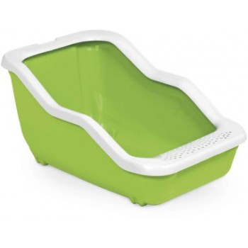 MPS / МПС Туалет-лоток NETTA Open 54х39х29h см с рамкой салатовый
