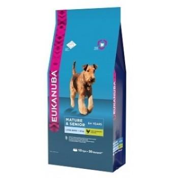 Eukanuba / Екануба Dog корм для пожилых собак крупных пород 15 кг