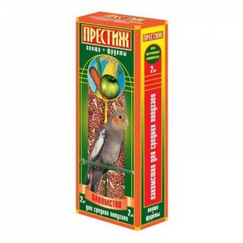 """Престиж """"Жесткие Палочки"""" лакомство для средних попугаев с мёдом, 150 гр"""