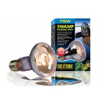 Exo Terra / Экзо Терра Лампа для болотных и водяных черепах Swamp Basking Spot  75 Вт. PT3781
