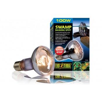 Exo Terra / Экзо Терра Лампа для болотных и водяных черепах Swamp Basking Spot 100 Вт. PT3782