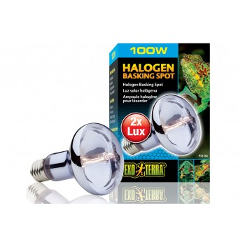 Exo Terra / Экзо Терра Лампа дневного света Halogen Basking Spot 100 Вт. /широкого спектра/ PT2183