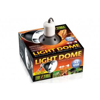 Exo Terra / Экзо Терра Светильник навесной для ламп накаливания Light Dome диам 18 см. PT2057