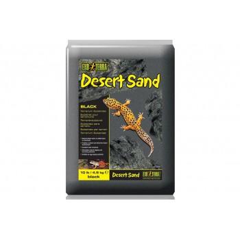 Exo Terra / Экзо Терра Песок для террариумов Desert Sand черный 4,5 кг PT3101