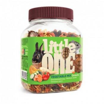 Little One Лакомство для всех видов грызунов Овощная смесь, 150 гр