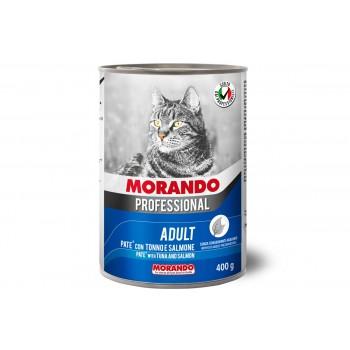 Morando / Морандо Professional консервированный корм для кошек паштет с треской, 400г, жб
