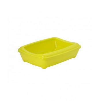 Moderna / Модерна Туалет-лоток большой с рамкой artist large + rim, 50х37х13, лимонно-желтый
