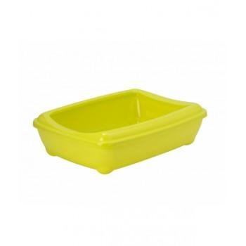 Moderna / Модерна Туалет-лоток большой с рамкой  artist large + rim, 57х43х15 jumbo лимонно-желтый