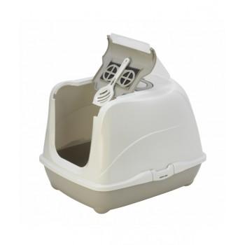 Moderna / Модерна Туалет-домик Jumbo с угольным фильтром, 57х44х41 см, теплый серый