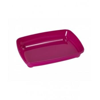 Moderna / Модерна Туалет-лоток малый Artist Small, 37х28х6 см, ярко-розовый