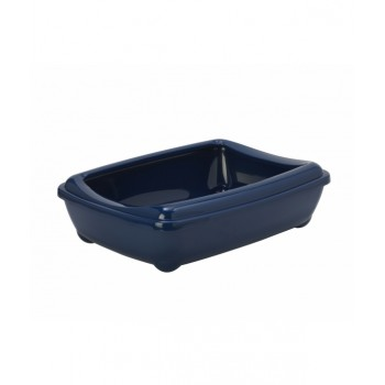 Moderna / Модерна Туалет-лоток большой с рамкой  artist large + rim, 57х43х15 jumbo черничный